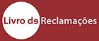 Reclamações logotipo fundo vermelho